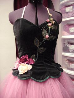 The Costume Lady. Very elegant Waltz of the Flower tutu. Everything about it works.