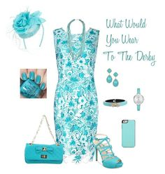 What Would You Wear To The Derby by lwilkinson on Polyvore featuring Precis Petite, GUESS, CristinaEffe, Freida Rothman, Kate Spade, Alexis Bittar, Lucky Brand and August Hat