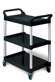 Service Cart with 3 shelves: Mobile Cart with 3 shelves