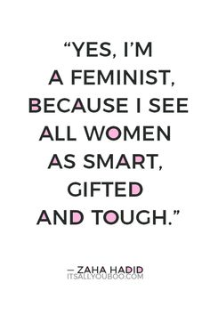 What does it mean to be a feminist? Here are 161 empowering feminist quotes for badass women that explore feminism, equality, and freedom for women. Tough Women Quotes, Woman Quotes, Feminist Quotes, Feminist Art, Motivational Words, Inspirational Quotes, Ridiculous Quotes, Badass Women, Freedom Girl