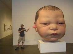 Inspired by Giant Baby Head on Phineas & Ferb or vice-versa? Short Funny Stories, How Big Is Baby, Big Baby, Ear Infection, Phineas And Ferb, Project 4, Baby Head, Haha, Infant