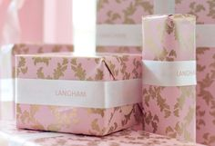 Who loves our Langham pattern?  #Pink #Luxury #Gift #Floral
