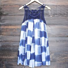 tie dye crochet bib dress - shophearts - 1