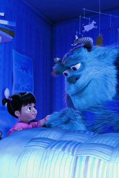 My sort of monster. Monsters Inc!<<<Cue the tears. :(