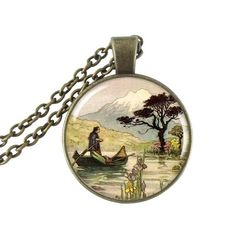 Glass cabochon pendant necklace Warwick Goble art picture jewelry Japanese fairy tale choker bronze chain neckless for women men - Welcome to our store                          100% Brand new!!!          High quality!Factory price! we also have many other styles.          please check our store o  - http://shopperbytes.com/product/glass-cabochon-pendant-necklace-warwick-goble-art-picture-jewelry-japanese-fairy-tale-choker-bronze-chain-neckless-for-wom