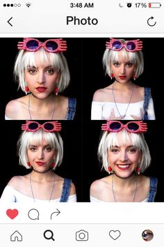 """Bob hair with bangs