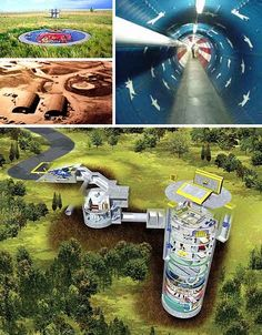 Nuclear Family Housing: Life In a Real Missile Silo Home
