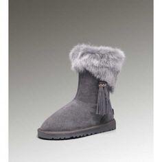 ... #diorshoes #ugg #uggboots #uggshoes #uggs #shoes #city #size #boots  #uggaustralia ugg short,Bottes Ugg Fox Fur Short 2894 Bottes Gris Femme  Magasin ...