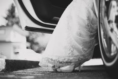 A chance to grab a great shot of the shoes you may have spent weeks/months searching for! Wedding Limo, Wedding Stuff, Wedding Day, Wedding Dresses, Wedding Converse, Great Shots, Wedding Pictures, Pretty Dresses, Picture Ideas