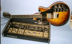 Roland GR-500. Check out the knobs and sliders on this guitar!!!