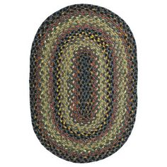"Homespice Decor Cotton Braided Enigma Brown Area Rug Rug Size: Oval Runner 2'5"" x 6'"
