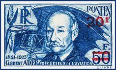I uploaded new artwork to fineartamerica.com! - 'Clement Ader 1841-1925 Aviation Pioneer Stamp' - http://fineartamerica.com/featured/clement-ader-1841-1925-aviation-pioneer-stamp-lanjee-chee.html via @fineartamerica
