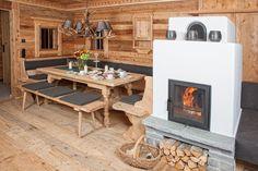 Wohnstube der Berghütte Sporer Alm im Zillertal