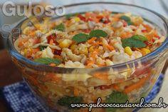 Esta delicia de Salada de Couve Flor é super refrescante e pode ser servida em…