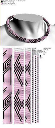 ✜ Жгуты из бисера ✜ Вязание с бисером ✜ Схемы | VK