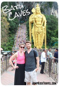 JumpKickTravel.com: Our beautiful trip to the Batu Caves in Kuala Lumpur, Malaysia.
