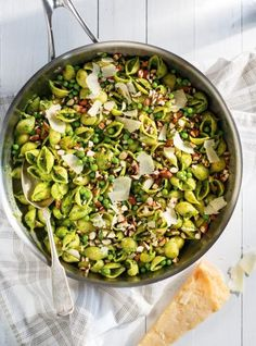 Photo Pâtes au pesto
