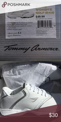 Women's golf shoes White. Never worn. Womens golf shoes. tommy armour Shoes Athletic Shoes