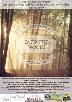 """bellissima iniziativa """" Into The Woods"""" MTB-ENDURO-TREKKING.... a Picinisco il 29 Novembre 2015 organizzata da Indiana Park e Ride the Valley.. nella mattinata degustazione prodotti tipici offerti dalla Soc. Agricola I Ciacca Picinisco..."""