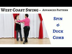 Are you looking to up your advanced West Coast Swing game? In this video we talk about an awesome spin and duck combo pattern to wow anyone in the room! West Coast Swing Dance, Swing Online, Cheer Dance, Dance Lessons, Latin Dance, Ballroom Dance, Dance Videos, Online Work, Swings