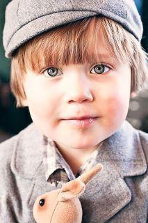 #boy #hat #suit #bunny #sweet #maryjanesandgaloshes