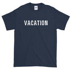 SUMMER Vacation Short-Sleeve T-Shirt