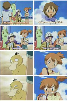 misty from pokemon anime \ misty pokemon anime & pokemon ash and misty anime & misty from pokemon anime Pokemon Comics, Pokemon Memes, Pokemon Funny, My Pokemon, Pokemon Stuff, Pikachu, Pokemon Fusion, Pokemon Cards, Pokemon Pictures