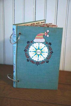 hardcover book turned into a scrapbook!!!