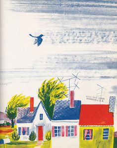 FOLLOW the WIND, illustrated by Roger Duvoisin