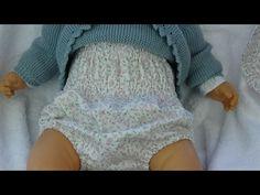 tutorial para hacer braguita de bebé