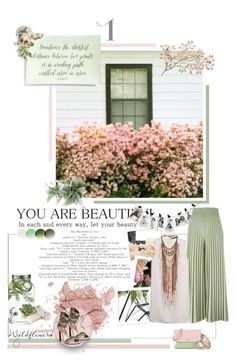 """""""Kiss Me Slowly - Parachute"""" by skylight101 ❤ liked on Polyvore featuring Dot & Bo, Betsey Johnson, Givenchy, Ben's Garden, Roberto Cavalli, Dara Ettinger and MCM"""