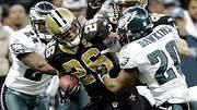 Deuce McAllister Saints Runningback 2000-2008