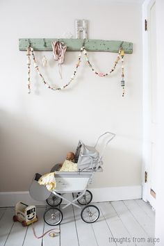 Thoughts from Alice: Whimsical Thread Spool Garland