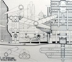 Plug-in City Archigram 1964 http://archigram.westminster.ac.uk/project.php?id=56