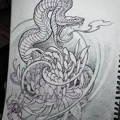 next project. #sketch #art #irezumicollective #irezumi #chronicink