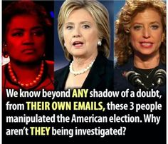 Demand an end to all fake Trump accusations.  Convict the real criminals...starting with these Jezebels.
