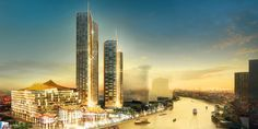 IconSiam, Bangkok.  The shopping mall with the residences by Mandarin Oriental group