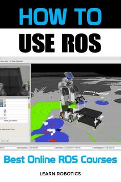 The best online ROS courses. Are you struggling to learn ROS? Confused by the ROS wiki? Then you'll want to take these online courses. Learn the Robot Operating System (ROS) fast with these top courses. Robotics Projects, Robotics Engineering, Systems Engineering, Real Robots, Robots For Kids, Robot Operating System, Learn Robotics, Technology Careers, Top Course