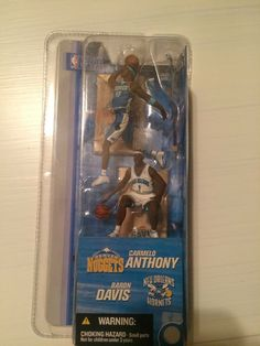 19e41bf2fab0 Details about Carmelo Anthony   Baron Davis Mini Figures