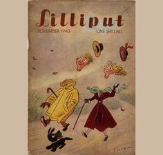 Walter Trier (1890 – 1951), Covers for Lilliput