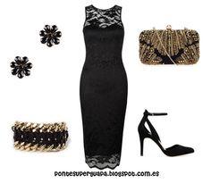 #Outfit de fiesta http://pontesuperguapa.blogspot.com.es/2013/12/propuestas-de-outfits-navidenos.html