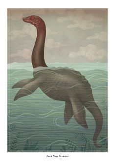 GM Inspiration: An illustrated guide of contemporary monsters: Loch Ness Monster