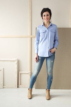 classic shirt sewing pattern