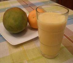 Receta: Batido de mango y mandarina