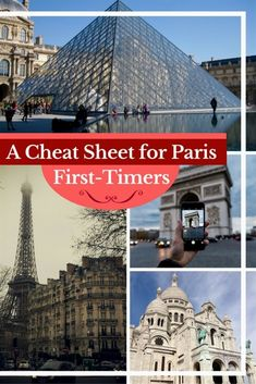 Travel Paris | If you're planning a trip to Paris, this cheat sheet has all your travel Paris basics + a Free downloadable cheat sheet to take on the go. #Paris #France #travel #Europe #bucketlist  #TravelTips