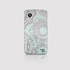 LG Nexus 5 Case  Lace on the Mint P00006 by rabbitmint on Etsy, $20.00