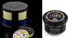 Rillettes d'esturgeon au caviar Sturia, Box de décembre