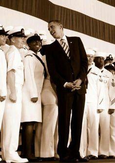 Commander In Chief President Barack Obama