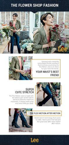 c6134f8618ed A low-key flexible waistband and premium, stretch denim—the Flex Motion Jean