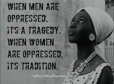 One Love to all the strong beautiful women of the world. You are truly the backbone of society.